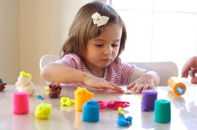 Make Your Own Jell-O Play Dough and Let Your Kids Play