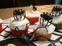 Scary Spider Halloween Cupcake Ideas
