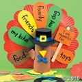 Paper Plate Thanksgiving Activities for Kids   Make some turkey paper plate craft kits!