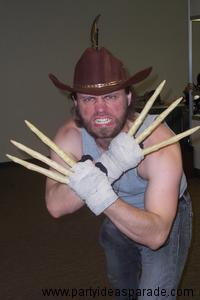 Here's a Homemade Wolverine Costume that is pretty awesome!